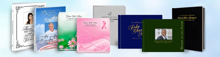 funeral guest book collection